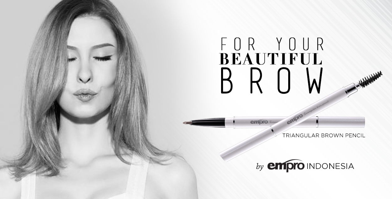 Empro Indonesia - Triangular Brown Pencil